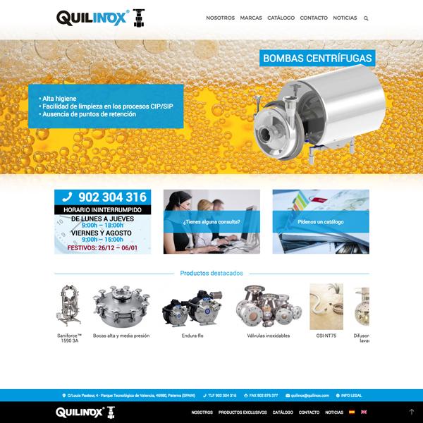 Quilinox web, Mafreino