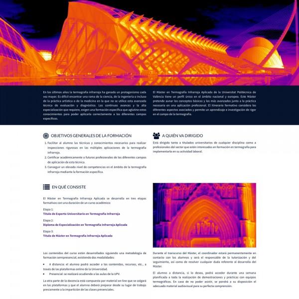 MTIR, Máster en Termografia Infrarroja, UPV Valencia